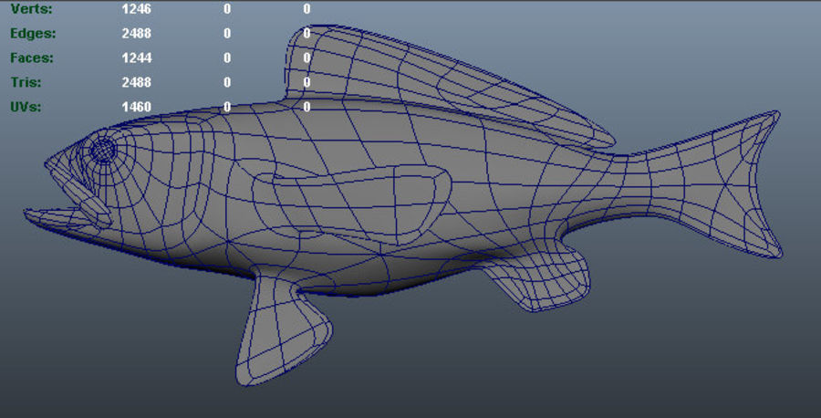 Deep Water Serrano royalty-free 3d model - Preview no. 6