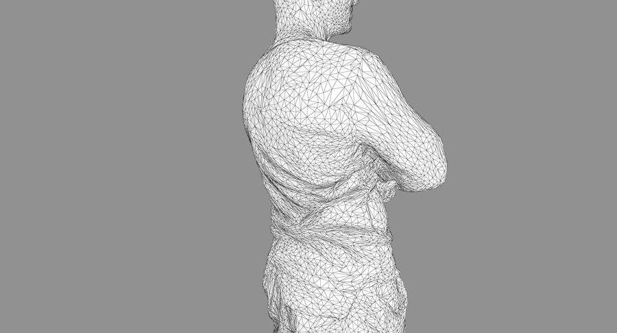 Casual Atlético Masculino royalty-free 3d model - Preview no. 21