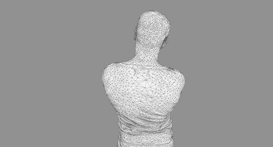 Casual Atlético Masculino royalty-free 3d model - Preview no. 33