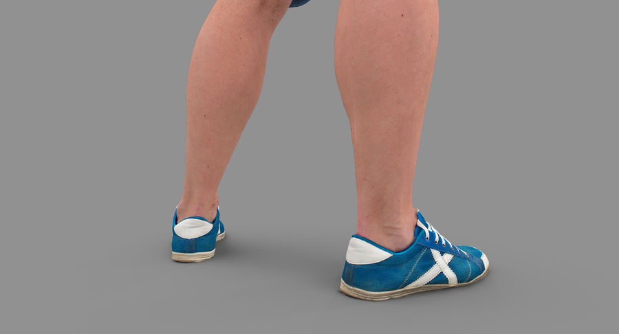 Casual Atlético Masculino royalty-free 3d model - Preview no. 26
