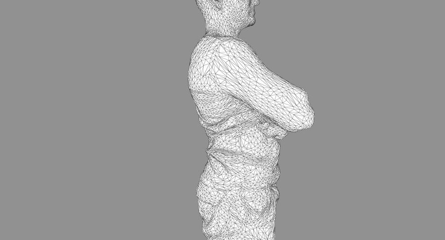 Casual Atlético Masculino royalty-free 3d model - Preview no. 15