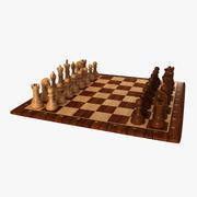 체스 세트 3d model