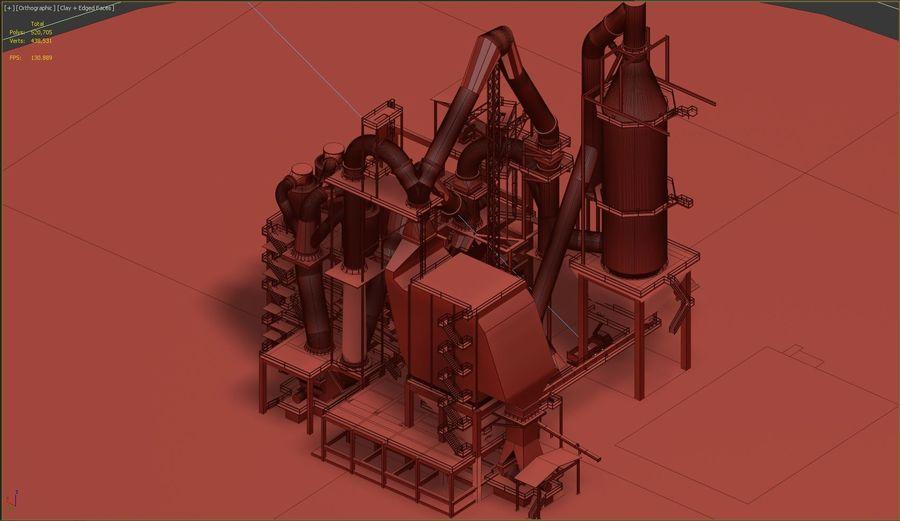 コンクリート工場-工業用 royalty-free 3d model - Preview no. 6