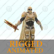 - Cavaleiro de ficção científica - RIGGED 3d model
