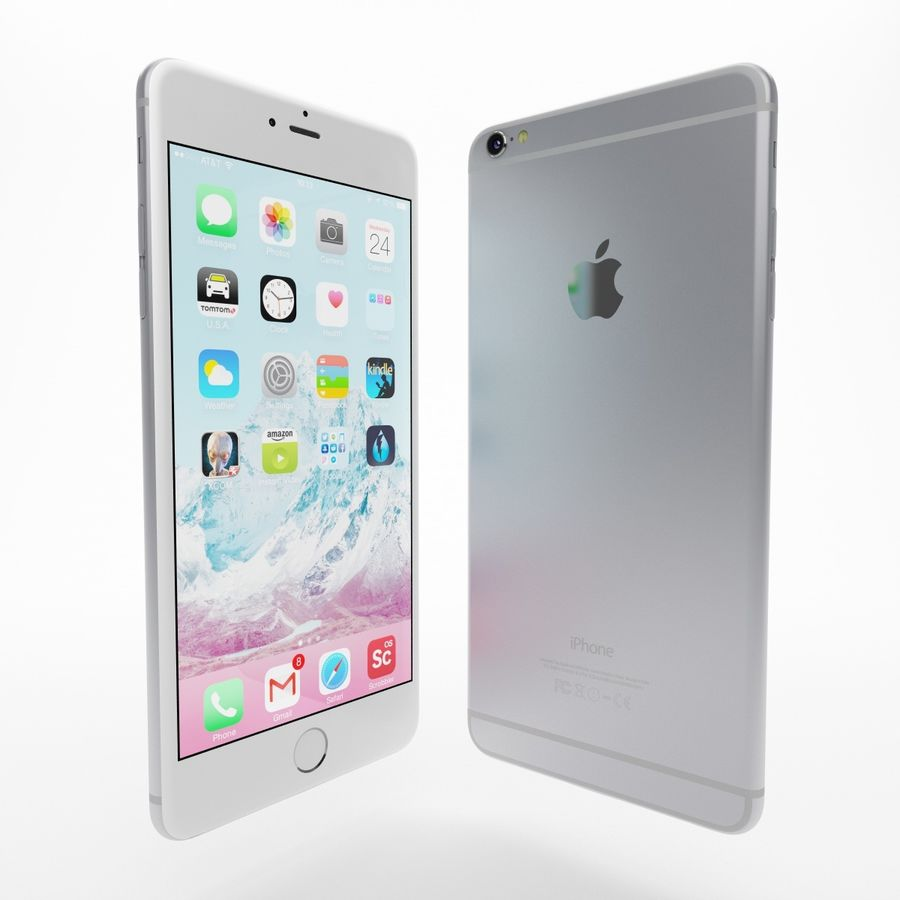 Apple iPhone och Apple Ipad royalty-free 3d model - Preview no. 14