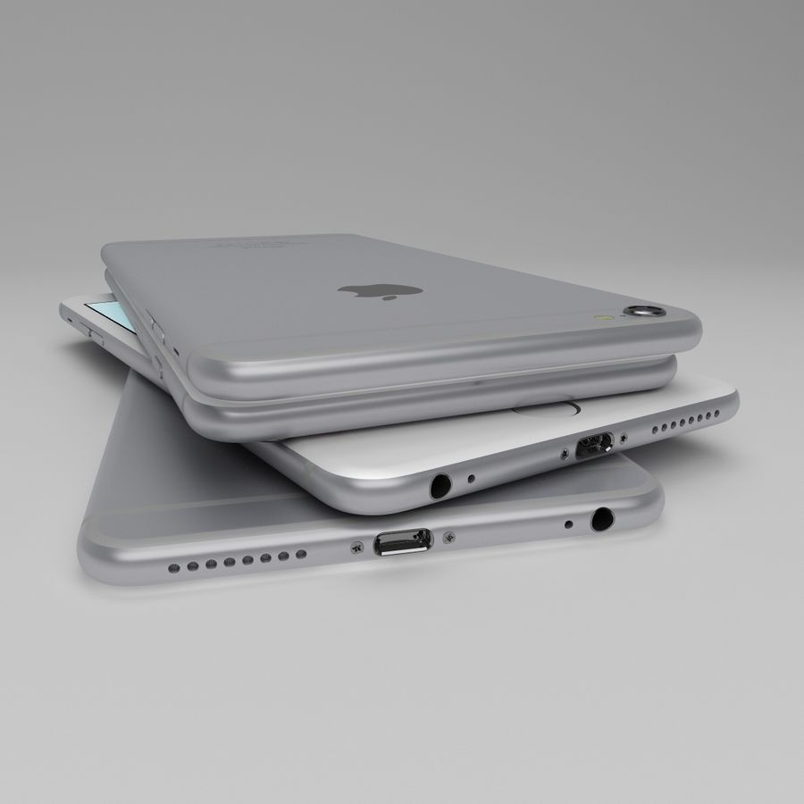 Apple iPhone och Apple Ipad royalty-free 3d model - Preview no. 10