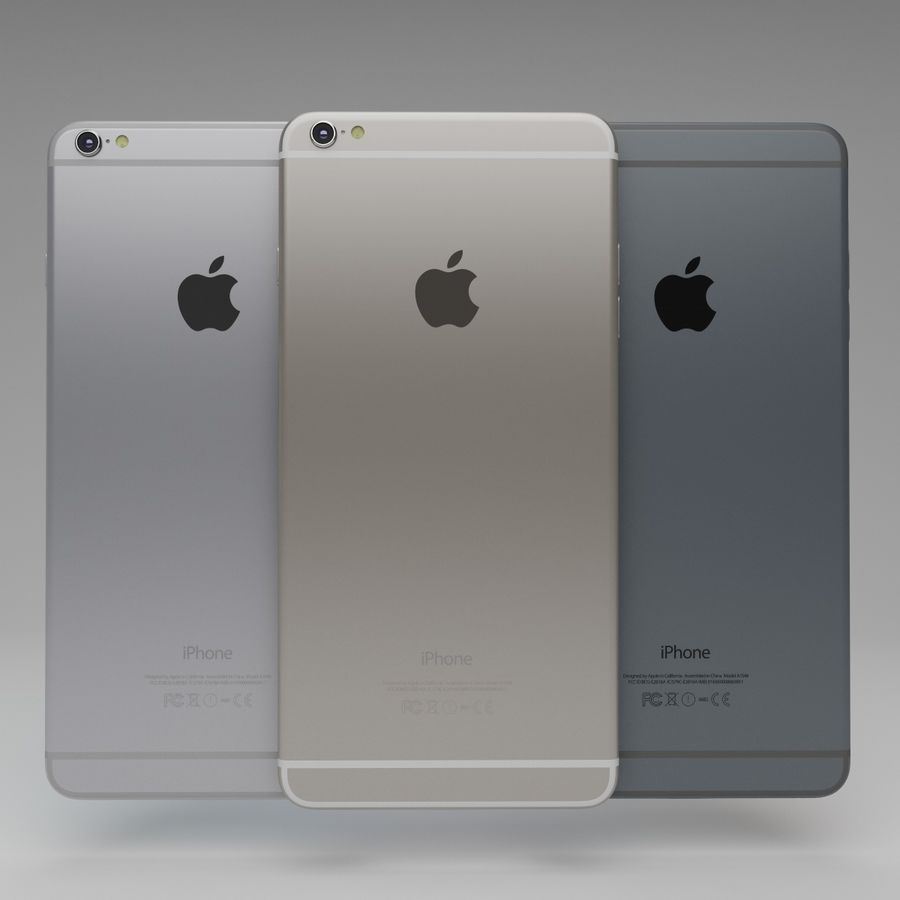 Apple iPhone och Apple Ipad royalty-free 3d model - Preview no. 13
