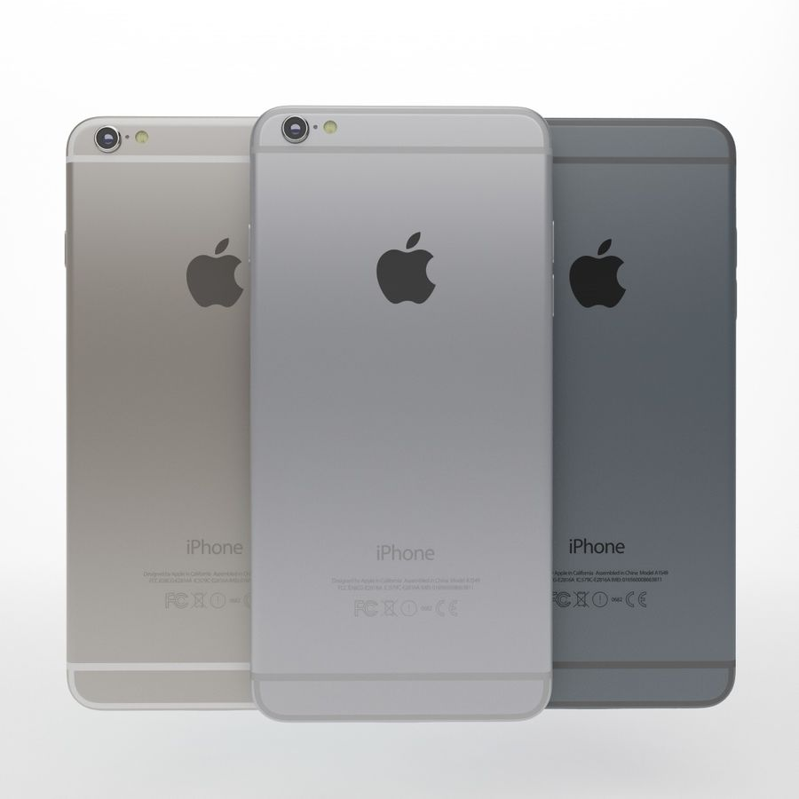 Apple iPhone och Apple Ipad royalty-free 3d model - Preview no. 5