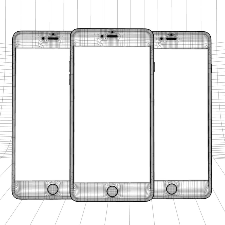 Apple iPhone och Apple Ipad royalty-free 3d model - Preview no. 29