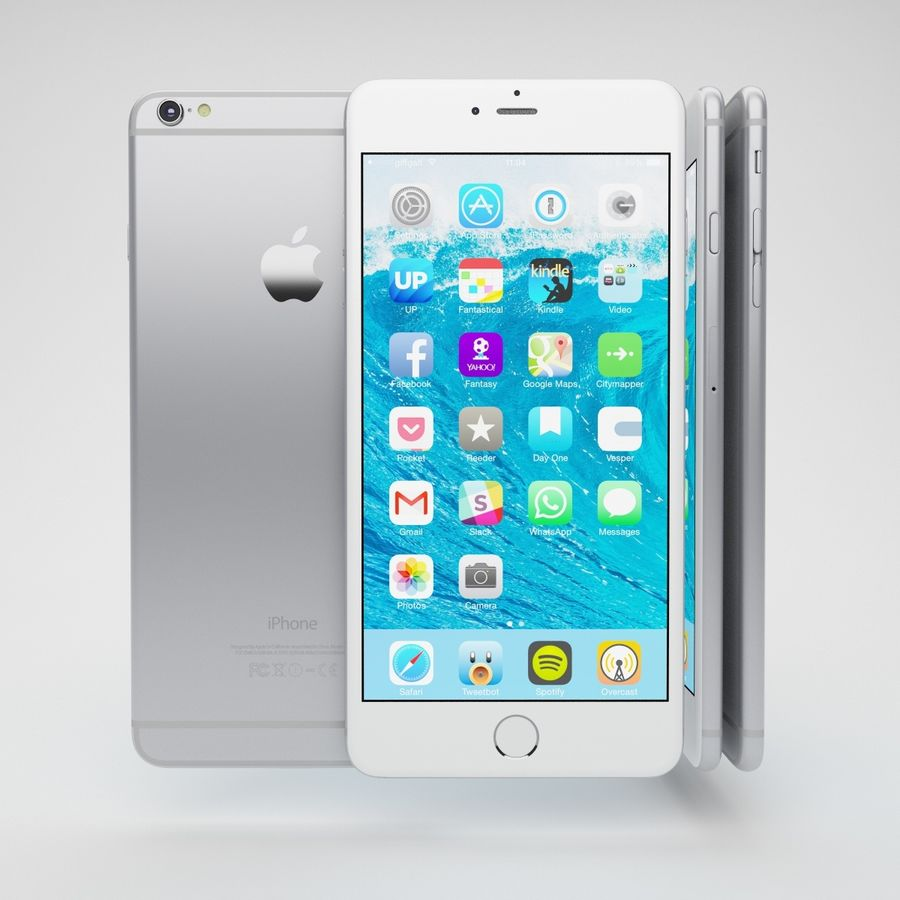 Apple iPhone och Apple Ipad royalty-free 3d model - Preview no. 8