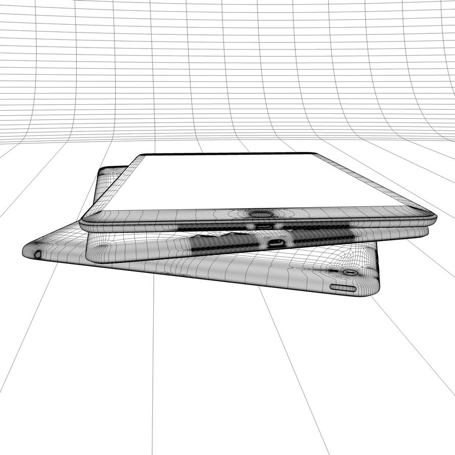 Apple iPhone och Apple Ipad royalty-free 3d model - Preview no. 26