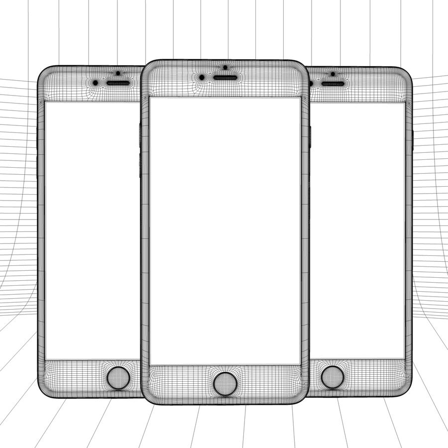Apple iPhone och Apple Ipad royalty-free 3d model - Preview no. 22