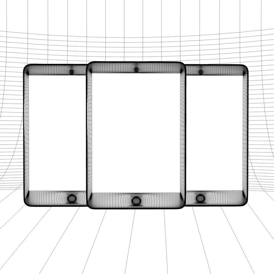 Apple iPhone och Apple Ipad royalty-free 3d model - Preview no. 31