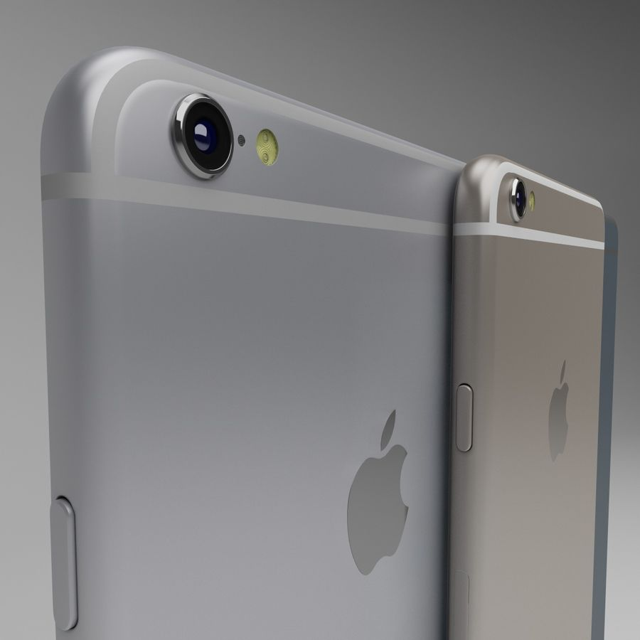 Apple iPhone och Apple Ipad royalty-free 3d model - Preview no. 9