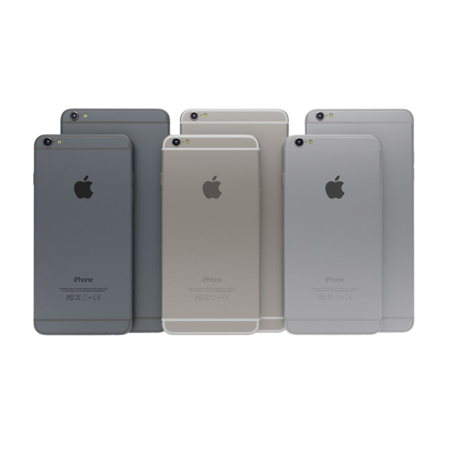 Apple iPhone och Apple Ipad royalty-free 3d model - Preview no. 3