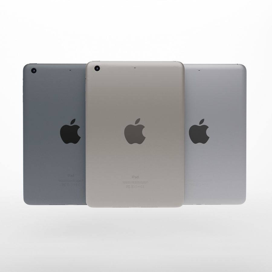 Apple iPhone och Apple Ipad royalty-free 3d model - Preview no. 20