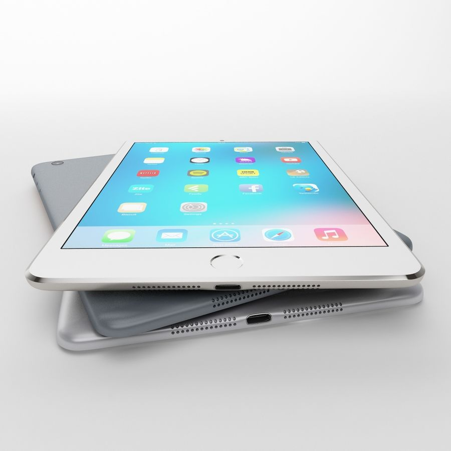 Apple iPhone och Apple Ipad royalty-free 3d model - Preview no. 19