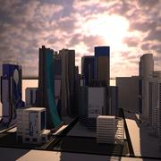 摩天大楼集 3d model