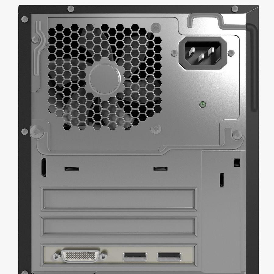 デスクトップコンピューター royalty-free 3d model - Preview no. 22