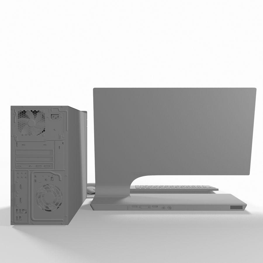 Desktop Computer royalty-free 3d model - Preview no. 10