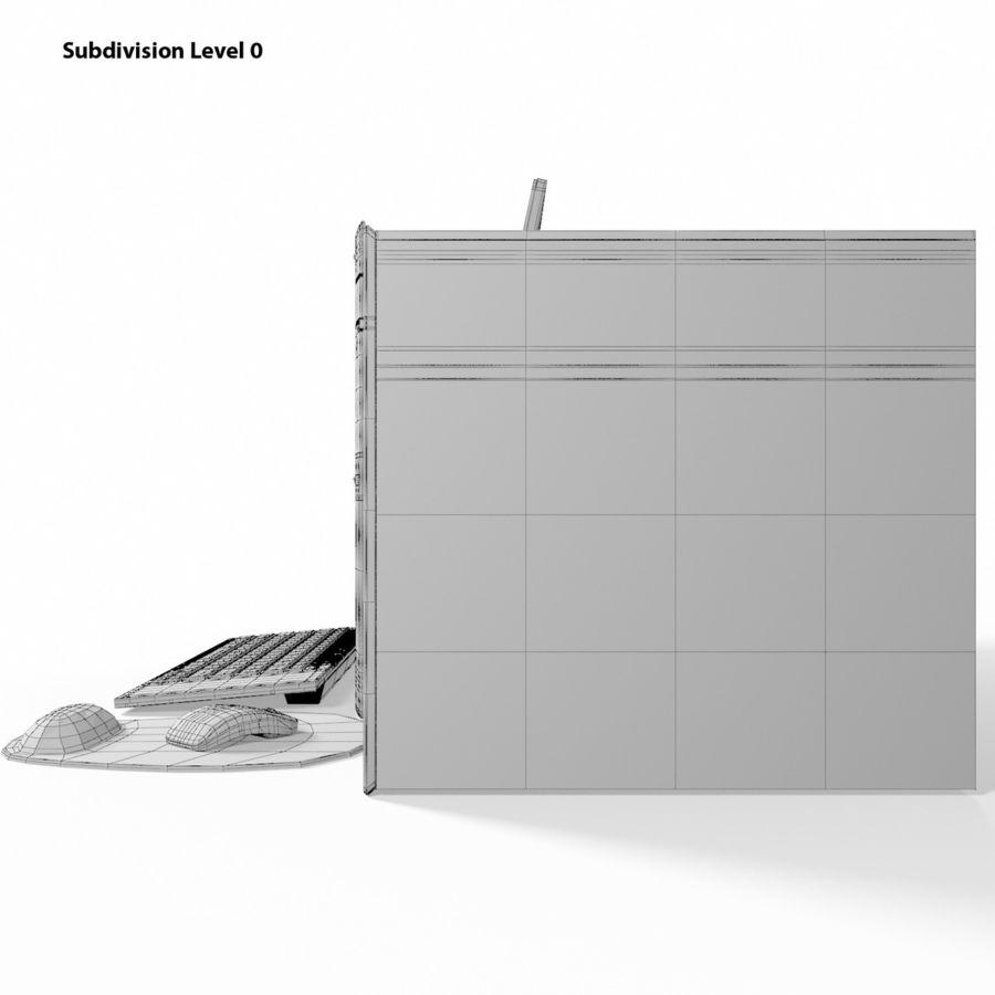 デスクトップコンピューター royalty-free 3d model - Preview no. 14