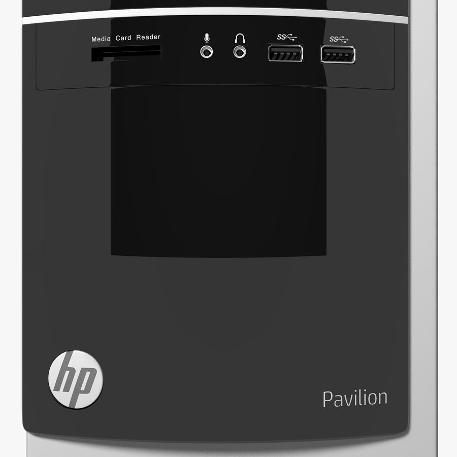 Desktop Computer royalty-free 3d model - Preview no. 20
