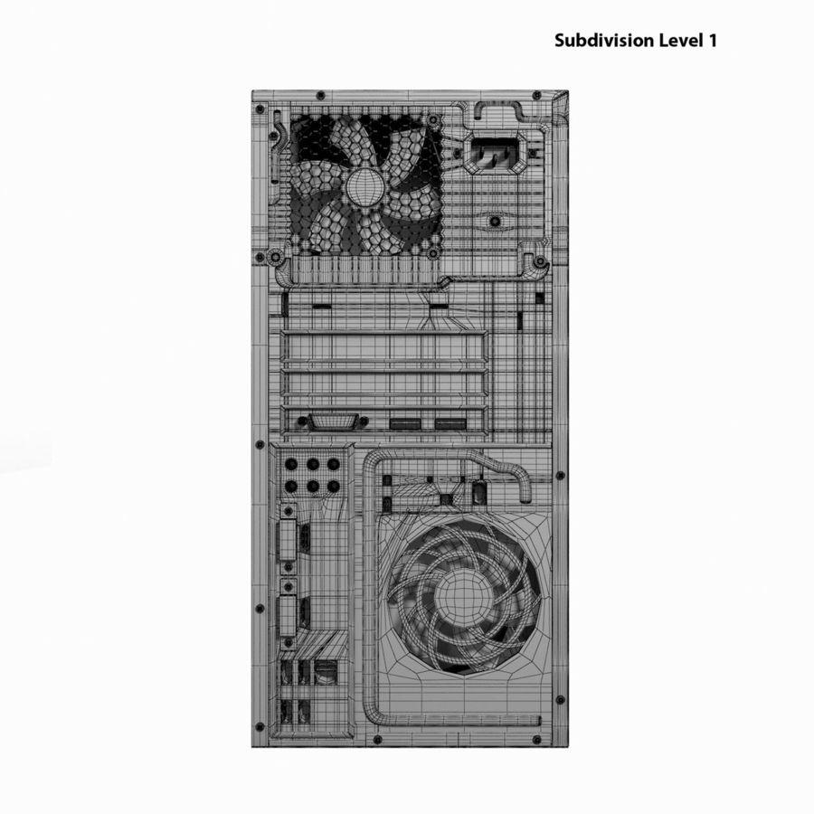デスクトップコンピューター royalty-free 3d model - Preview no. 24