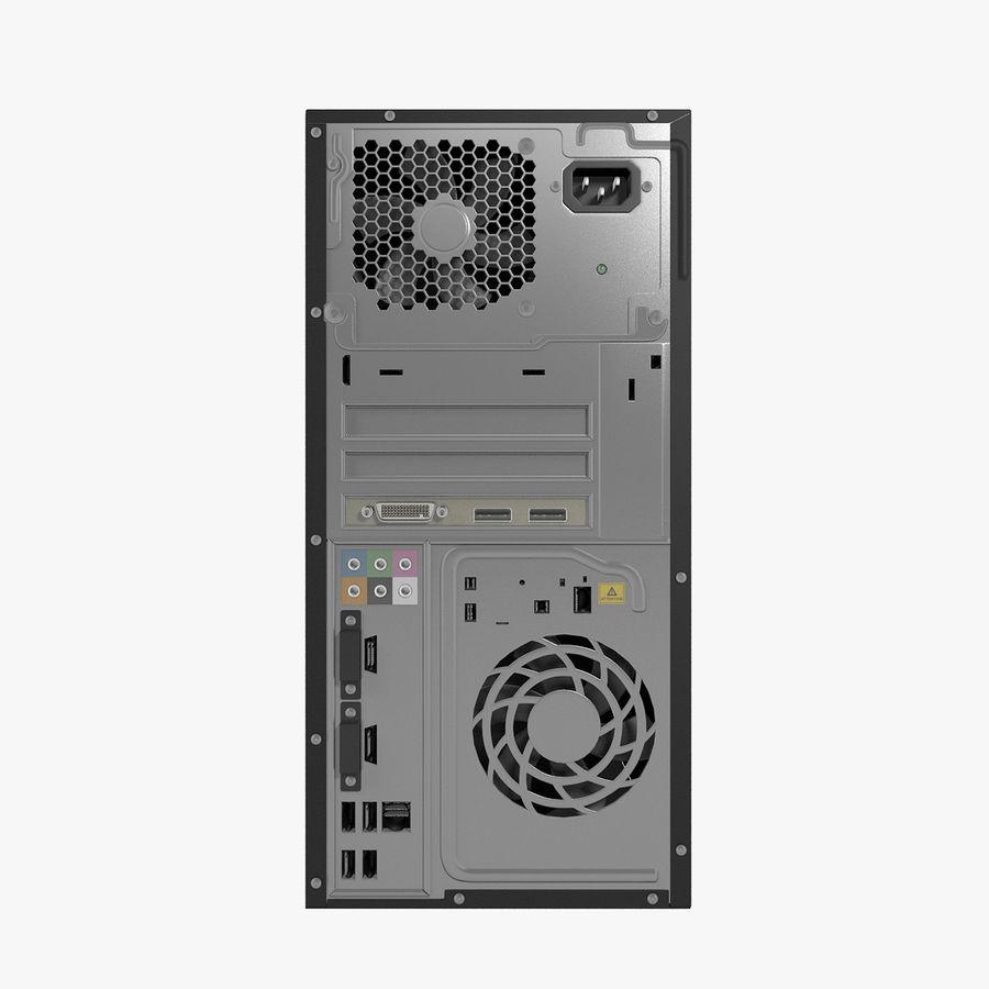 デスクトップコンピューター royalty-free 3d model - Preview no. 21