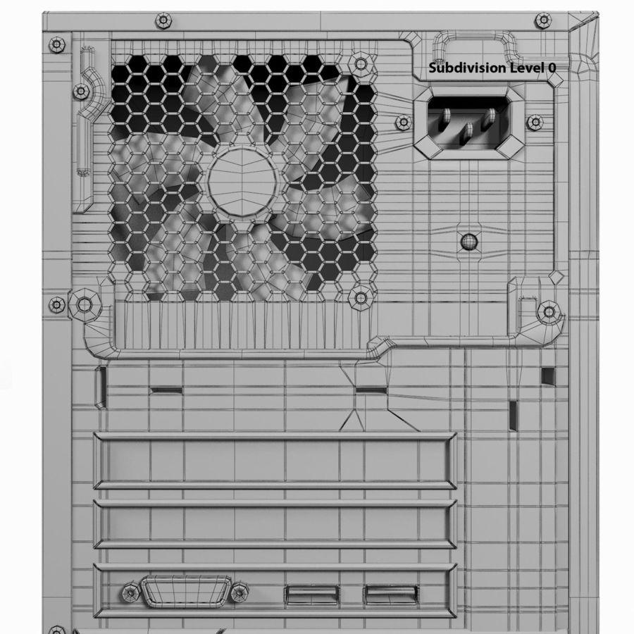 デスクトップコンピューター royalty-free 3d model - Preview no. 25