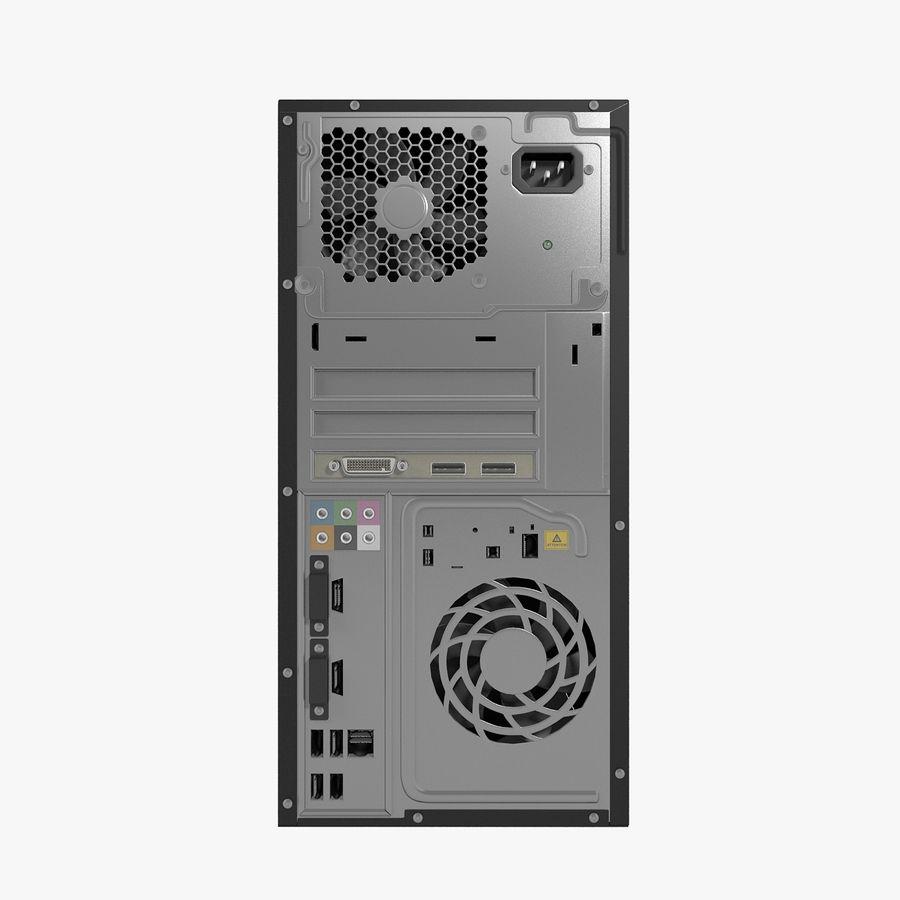 Desktop Computer royalty-free 3d model - Preview no. 21