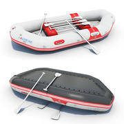 Inflatable Boat 02 3d model