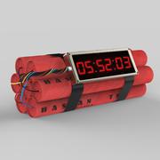 Timer Bomb 3d model
