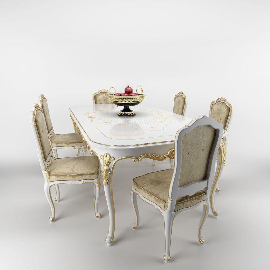 Luigi XV Venezia royalty-free 3d model - Preview no. 2