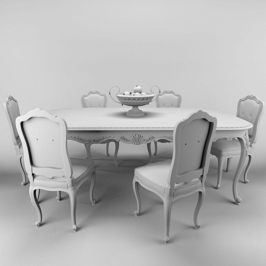 Luigi XV Venezia royalty-free 3d model - Preview no. 5