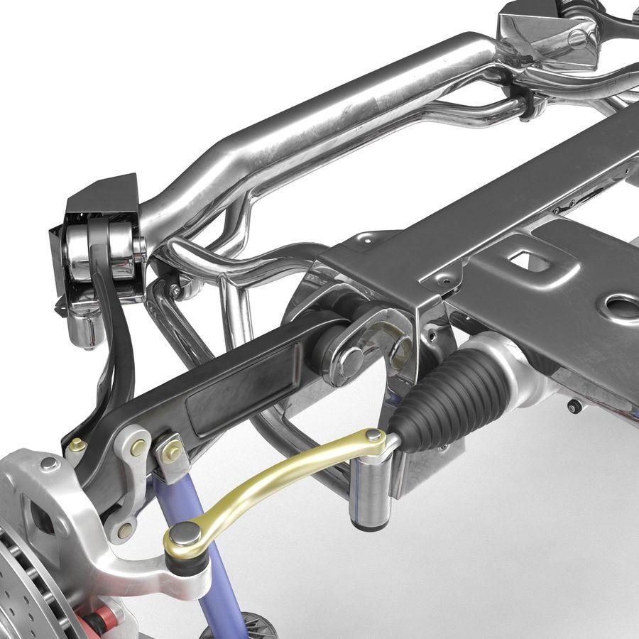 Sedan Front Suspension 2 royalty-free 3d model - Preview no. 11
