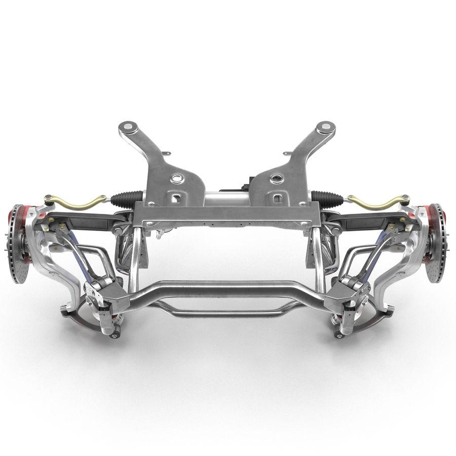 Sedan Front Suspension 2 royalty-free 3d model - Preview no. 9