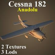 C182 AND 3d model