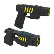 Stun Gun Pack 1 3d model