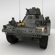 Ferret Armored Car 3d model