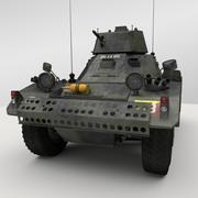 Ferret Armoured Car 3d model