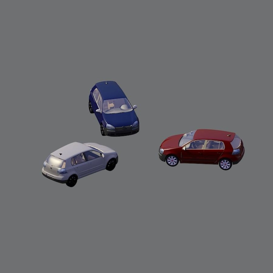 車の3Dモデル royalty-free 3d model - Preview no. 1