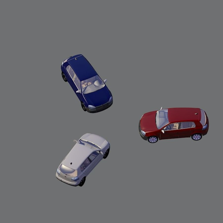 車の3Dモデル royalty-free 3d model - Preview no. 5