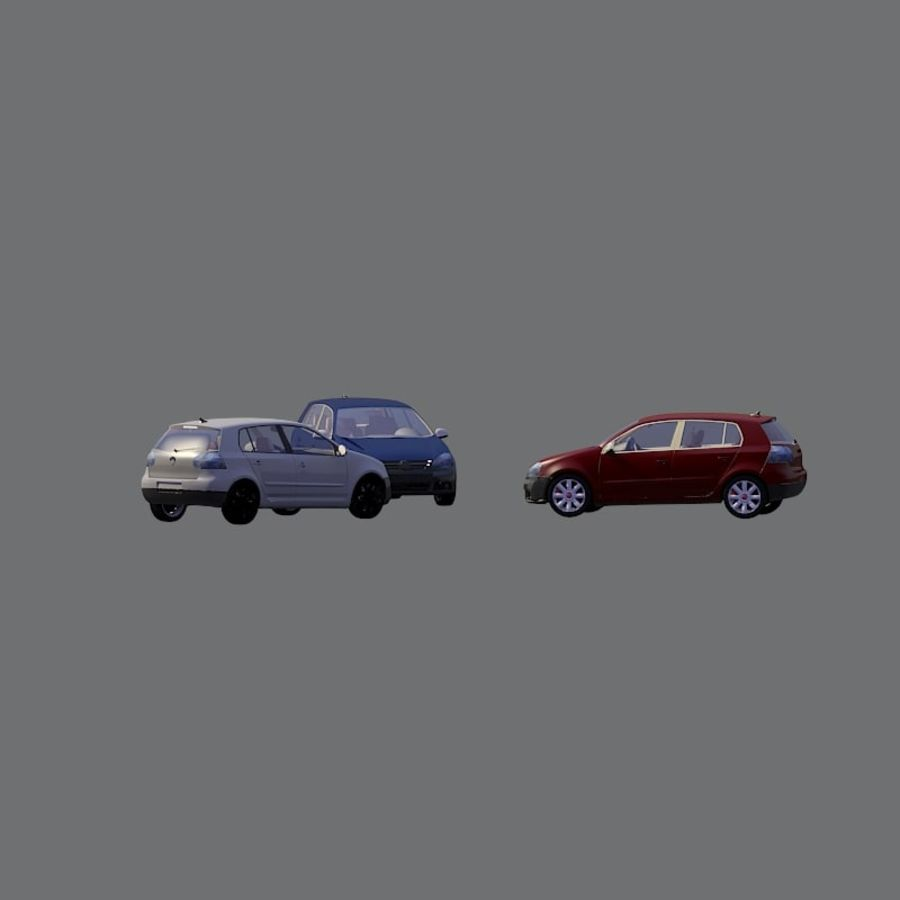 車の3Dモデル royalty-free 3d model - Preview no. 2