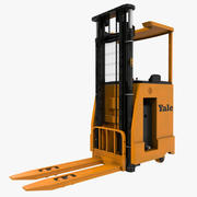 Rider Stacker Orange 3d model