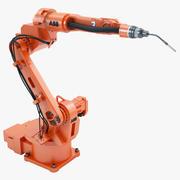 ABB IRB 1520 ID Industrial robot 3d model