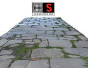 보도 포장 스캔 3d model