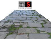 sidewalk pavement  Scan 3d model