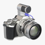 Câmera digital sem espelho 3d model