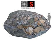Скальное сканирование HD 8K 3d model