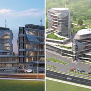 Business center 3d model